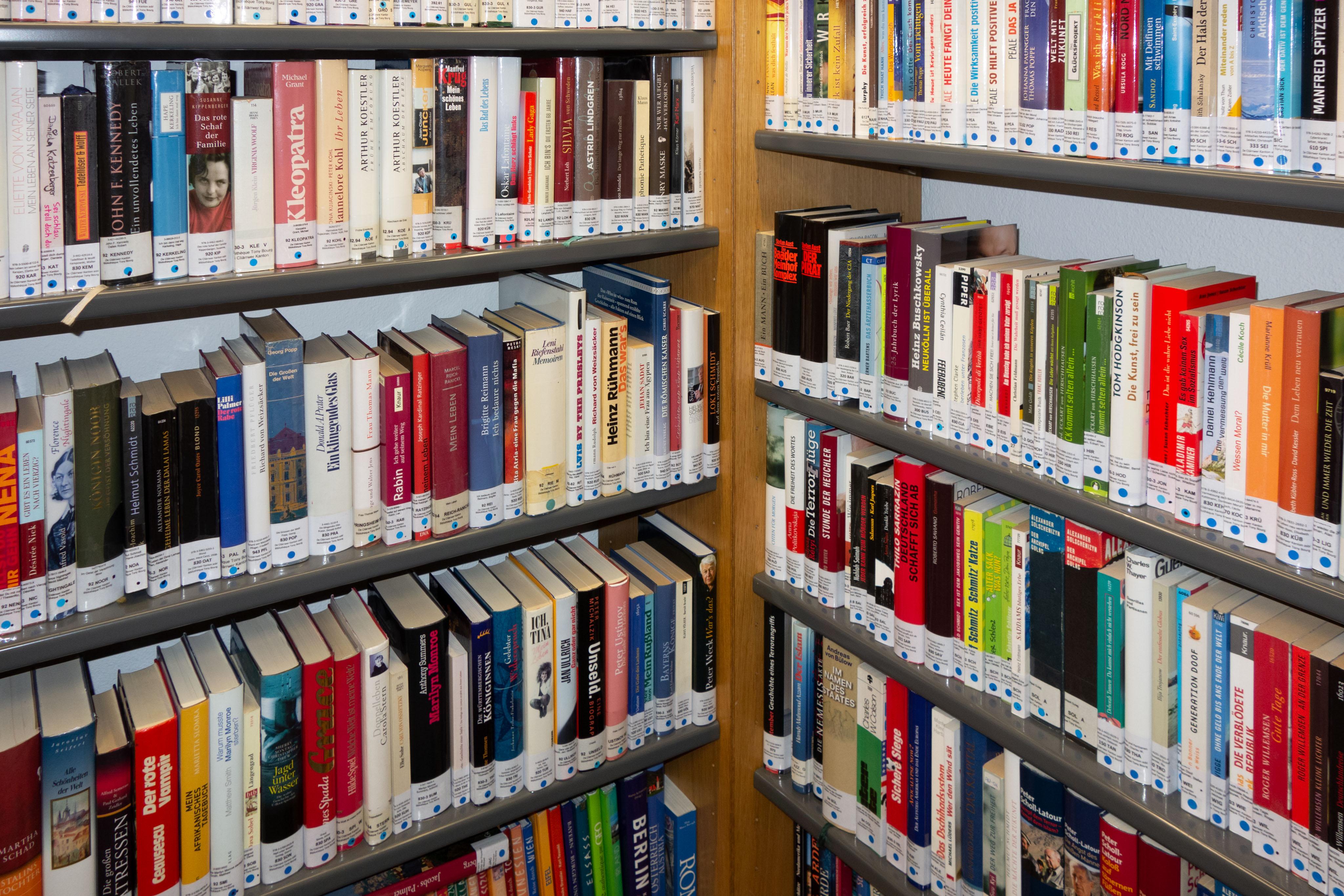 livres Bibliothèque Tony Bourg