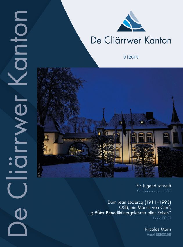 De Cliärrwer Kanton 2018-3